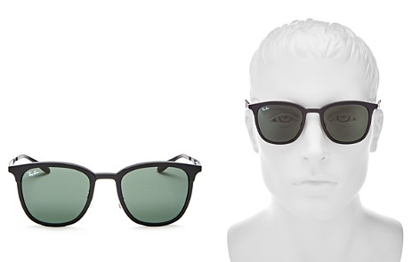 Ray-Ban Highstreet Clubmaster Sunglasses, 50mm - Bloomingdale's_2