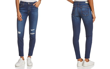 AG High-Rise Skinny Ankle Jeans in Blaker - 100% Exclusive - Bloomingdale's_2