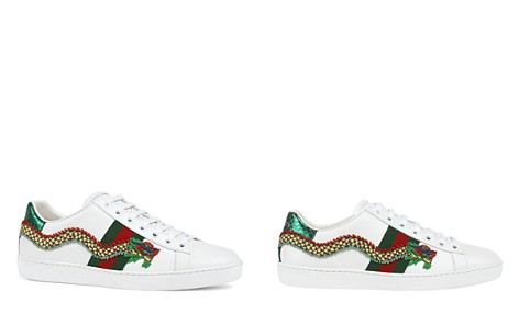 Gucci New Ace Low Top Lace Up Sneakers - Bloomingdale's_2
