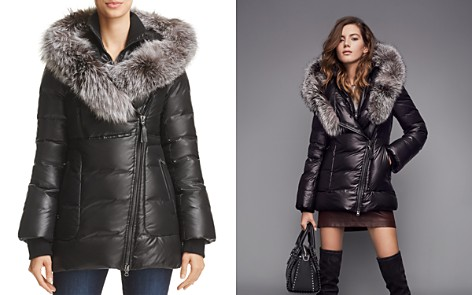 Mackage Elizabeth Fox Fur Trim Down Coat - 100% Exclusive - Bloomingdale's_2