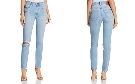 Nobody True Ripped Ankle Jeans in Remixed - Bloomingdale's_2