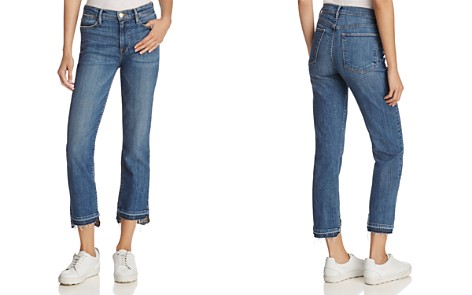 FRAME Le High Straight Jeans in Foster - 100% Exclusive - Bloomingdale's_2