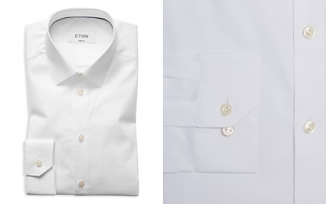 Eton of Sweden Twill Slim Fit Basic Dress Shirt - Bloomingdale's_2