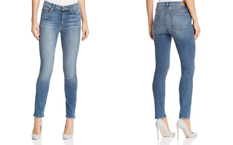 PAIGE Hoxton Skinny Ankle Jeans in Sawyer - 100% Exclusive - Bloomingdale's_2