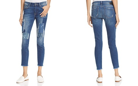 Mavi Adriana Skinny Ankle Jeans in Patched Vintage - Bloomingdale's_2