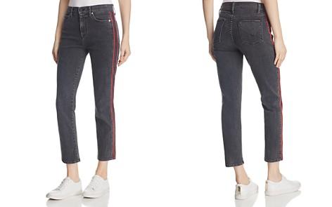 Hudson Zoeey Crop Straight Leg Jeans in Hone - Bloomingdale's_2
