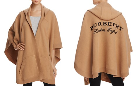 Burberry Carla Hooded Knitted Poncho - Bloomingdale's_2