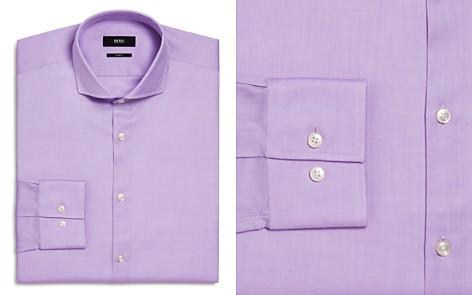 BOSS Jason Textured Solid Slim Fit Dress Shirt - Bloomingdale's_2