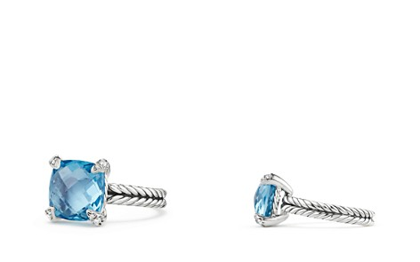 David Yurman Châtelaine® Ring with Blue Topaz and Diamonds - Bloomingdale's_2