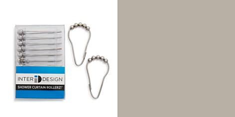 InterDesign Shower Curtain Roller Hooks, Set of 12 - Bloomingdale's Registry_2