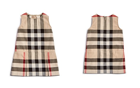 Burberry Girls' Pleated Check Dress - Baby - Bloomingdale's_2