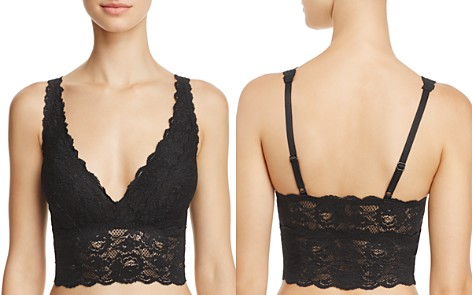 Cosabella Never Say Never Plungie Longline Bralette - Bloomingdale's_2