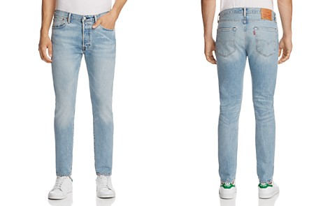 Levi's 501 Super-Slim Fit Jeans in Hillman - Bloomingdale's_2
