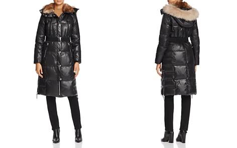 Marc New York Liz Belted Faux Fur Puffer Coat - Bloomingdale's_2