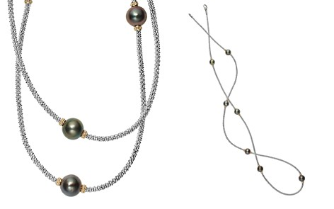 "LAGOS 18K Gold and Sterling Silver Luna Cultured Tahitian Pearl Rope Necklace, 34"" - Bloomingdale's_2"