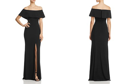 Avery G Off-the-Shoulder Flounce Gown - Bloomingdale's_2