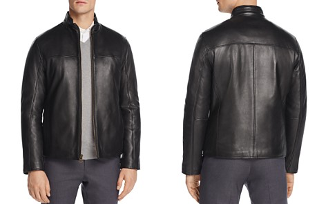 Cole Haan Zip-Front Leather Jacket - Bloomingdale's_2