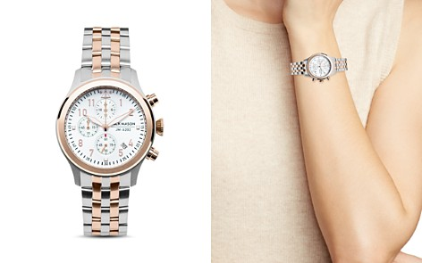 Jack Mason Two-Tone Aviator Chronograph Watch, 36mm - Bloomingdale's_2