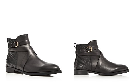 Burberry Vaughan Belted Leather Booties - Bloomingdale's_2