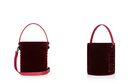 meli melo Santina Mini Velvet Bucket Bag - Bloomingdale's_2
