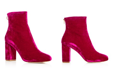 Joie Women's Saleema Velvet Block Heel Booties - Bloomingdale's_2
