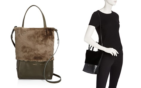 Alice.D Husky Small Shearling Tote - Bloomingdale's_2