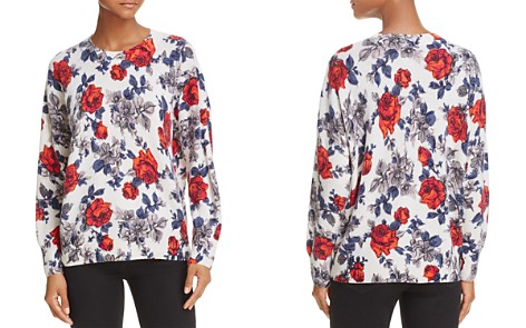 Equipment Melanie Floral Cashmere Sweater - Bloomingdale's_2
