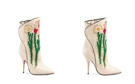 Gucci Women's Crystal-Embroidered Booties - Bloomingdale's_2