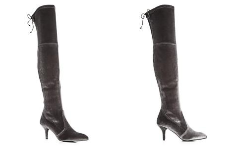 Stuart Weitzman Women's Tiemodel Velvet Over-the-Knee Boots - Bloomingdale's_2