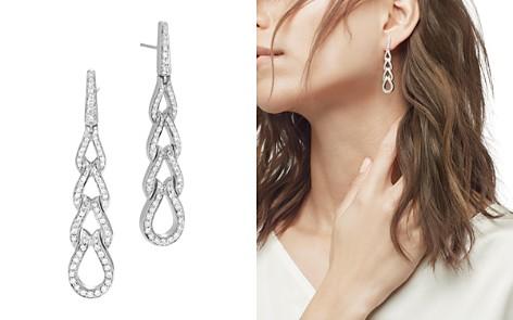 John Hardy Classic Chain Sterling Silver Diamond Pavé Drop Earrings - Bloomingdale's_2