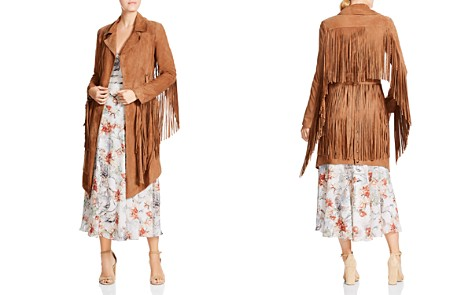 Haute Hippie Born In The Fire Fringed Suede Jacket - Bloomingdale's_2