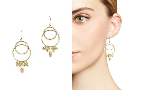 14K Yellow Gold Beaded Double Circle Drop Earrings - 100% Exclusive - Bloomingdale's_2