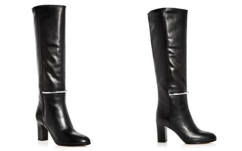 Via Spiga Women's Shaw Leather Tall High-Heel Boots - Bloomingdale's_2