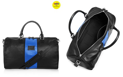 Anderson's Leather Racing Stripe Duffel Bag - GQ60, 100% Exclusive - Bloomingdale's_2