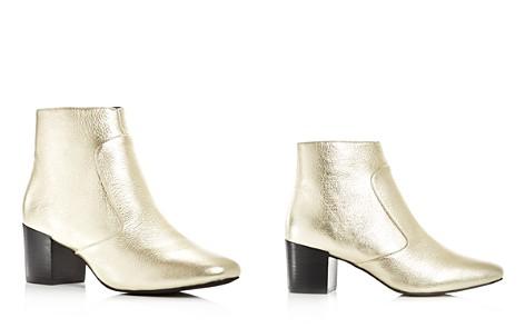 Sol Sana Women's Martina Leather Block Heel Booties - Bloomingdale's_2