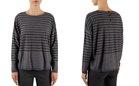 Gerard Darel Laslo Back-Button Sweater - Bloomingdale's_2