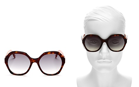 Fendi Oversized Round Sunglasses, 56mm - Bloomingdale's_2