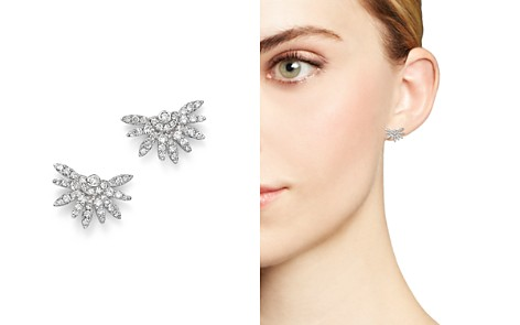 Bloomingdale's Diamond Stud Earrings in 14K White Gold, .45 ct. t.w. - 100% Exclusive _2