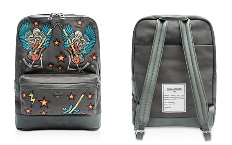 Zadig & Voltaire Arizona Canvas Embroidered Backpack - Bloomingdale's_2