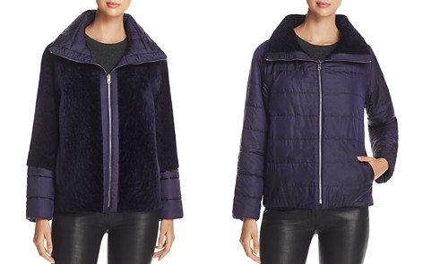 Maximilian Furs Reversible Lamb Shearling Jacket - 100% Exclusive - Bloomingdale's_2