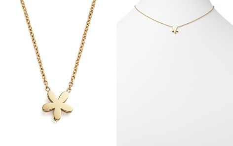 """Roberto Coin 18K Yellow Gold Tiny Treasures Princess Fiore Necklace, 18"""" - Bloomingdale's_2"""