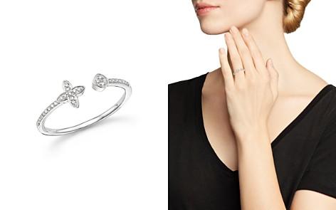 KC Designs 14K White Gold Diamond Open Stacking Ring - Bloomingdale's_2