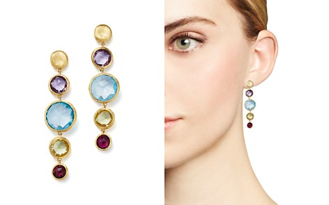 Marco Bicego 18K Yellow Gold Jaipur Multicolored Gemstone Drop Earrings - Bloomingdale's_2