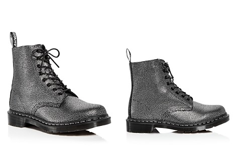 Dr. Martens Women's Pascal Pebbled Leather Combat Booties - Bloomingdale's_2