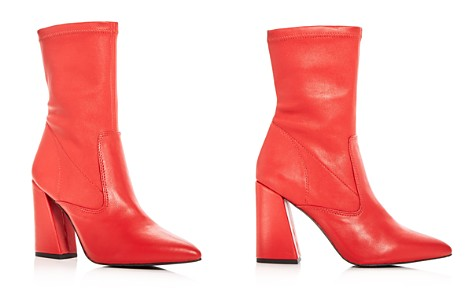 Kenneth Cole Women's Galla Leather High Heel Booties - Bloomingdale's_2