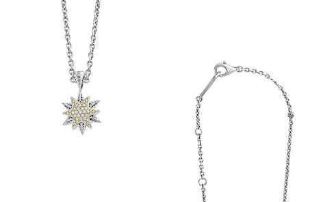 """LAGOS 18K Gold & Sterling Silver North Star Diamond Small Pendant Necklace, 16"""" - Bloomingdale's_2"""