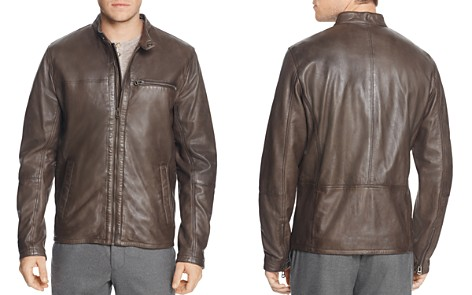 Cole Haan Washed Leather Moto Jacket - Bloomingdale's_2