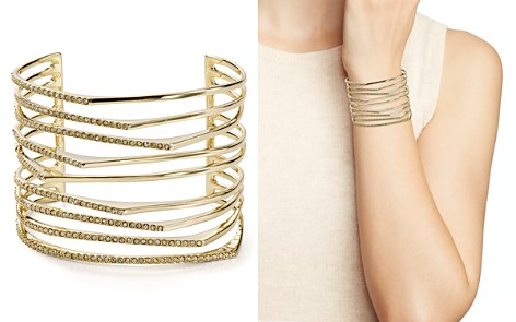 Alexis Bittar Golden Sharp Cuff - Bloomingdale's_2