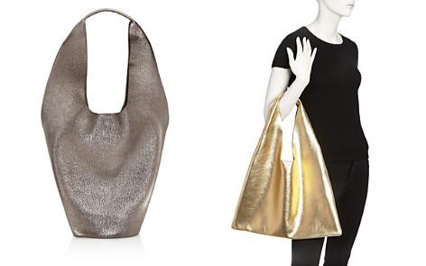 Arron Medium Leather Triangle Hobo - Bloomingdale's_2
