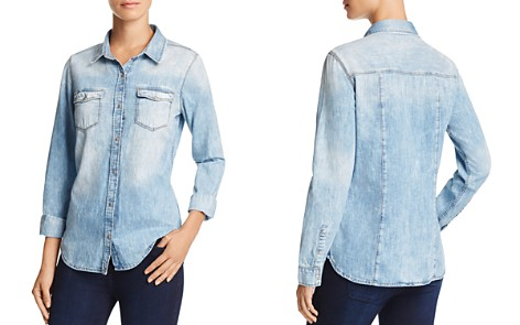 Mavi Isabel Chambray Shirt - Bloomingdale's_2